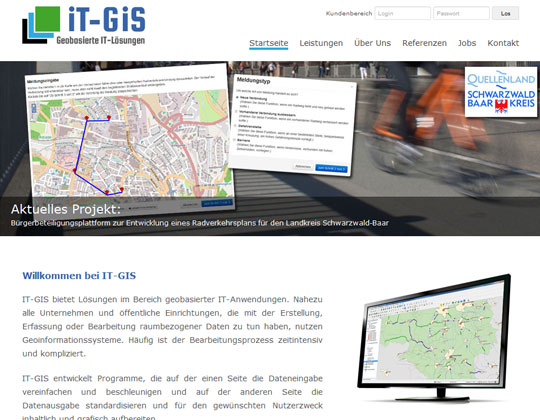 IT-GIS GbR - Firmenwebseite